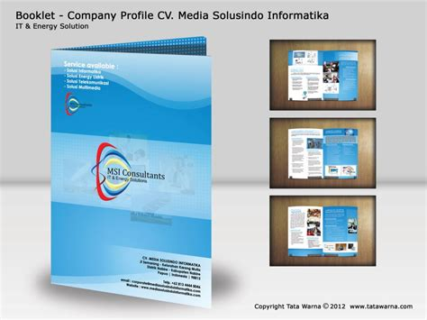 contoh desain company profile perusahaan contoh desain company profile magang nanda