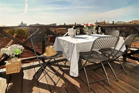 venice roof terrace ca mercante grand canal with roof terrace