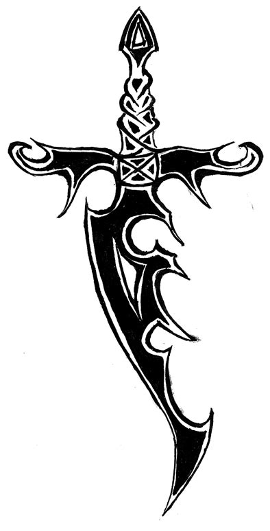 tribal sword tattoo tribal sword and snake design 187 ideas