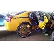 DODGE CHARGER On Big 32 Inch Rims Cars Donk Part 47 YouTube