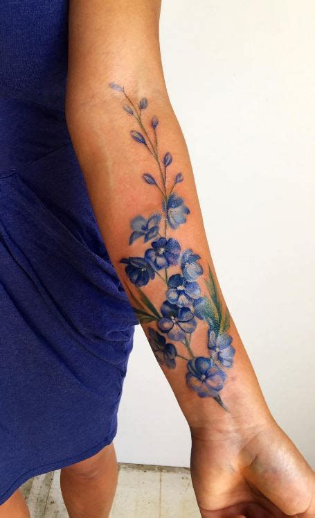 blue delphinium inkstylemag