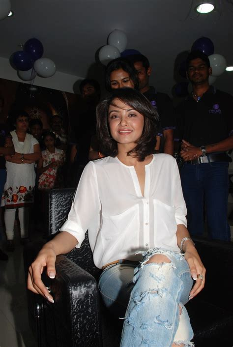surveen chawla family picture 67929 kukatpally naturals family salon launch