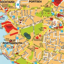 Portsmouth England Map by Map Portsmouth Hampshire England Uk Maps And