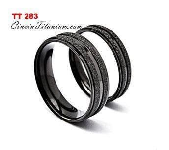 Jual Sho Metal Jogja jual cincin titanium hitam jual cincin titanium