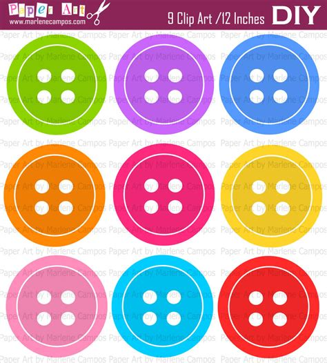 free clip buttons clipart free collection