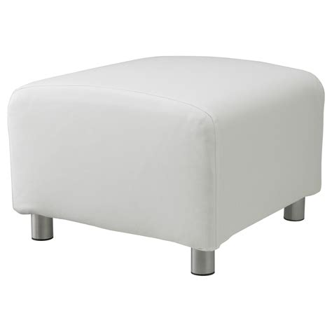 Sofa Footstool by Custom Slip Cover For Klippan Footstool 100 Cotton