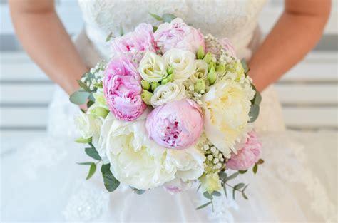 Hochzeitsstrauß Selber Binden by Brautstrau 223 Mit Pfingstrosen Selber Binden Rosa Hochzeit