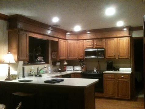 matching kitchen cabinets should i paint the other crown moulding to match cabinets