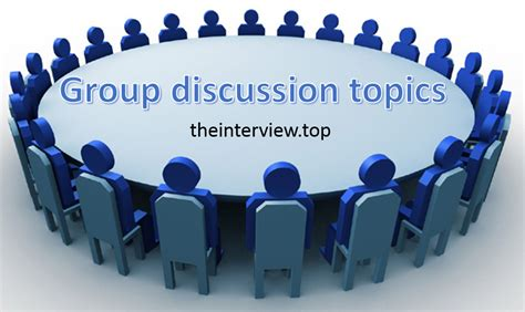 Recent Gd Topics For Mba by Top Discussion Topics With Answers For All Streams