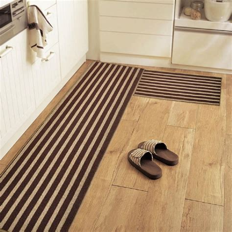 doormat and runner set 2 non slip kitchen mat rubber backing doormat runner