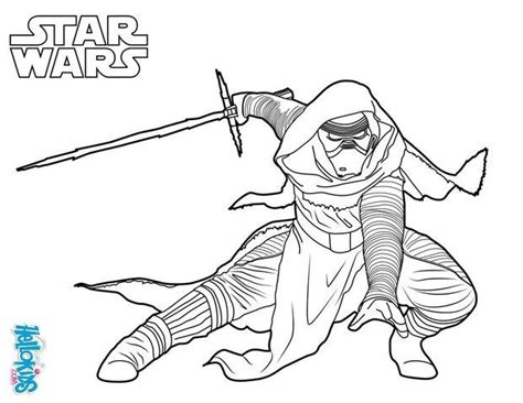 coloring pages kylo ren star wars la guerra de las galaxias スターウォーズ 星際大戰 guerre