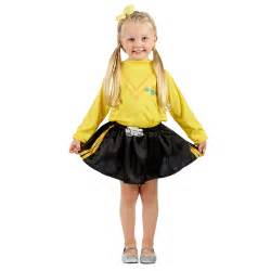 Custom Craft Upholstery The Wiggles Emma Dress Up Yellow Spotlight Australia