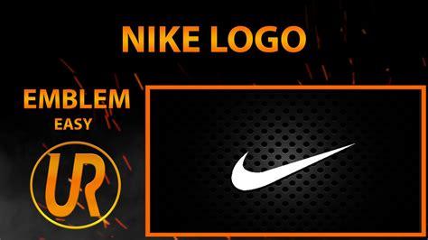 tutorial logo emblem black ops 3 nike logo emblem tutorial 12 youtube