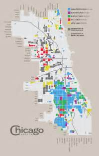 Chicago Gang Map by Gangs And Politicians Map Of Chicago Gangs Chicago