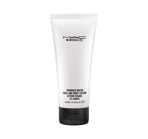 mineralize charged water face  body lotion mac