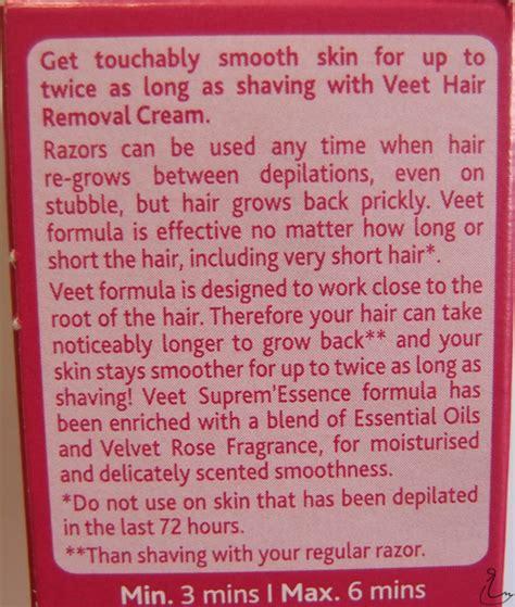 the swanple review veet suprem essence hair removal