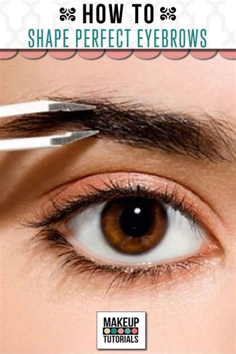12 Tips On How To Pluck Your Eyebrows by 25 Best Ideas About Plucking Eyebrows On
