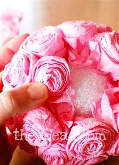 cara membuat bunga tangan kertas kerajinan tangan cara membuat kerajinan tangan dari