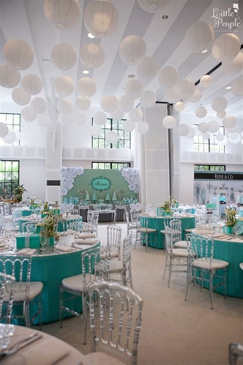 tiffany themed events breakfast at tiffany s birthday party