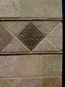 tile backsplash travertine for the home