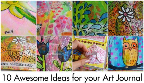 art journal printable pages ideas 10 ideas for your art journal ihanna s blog