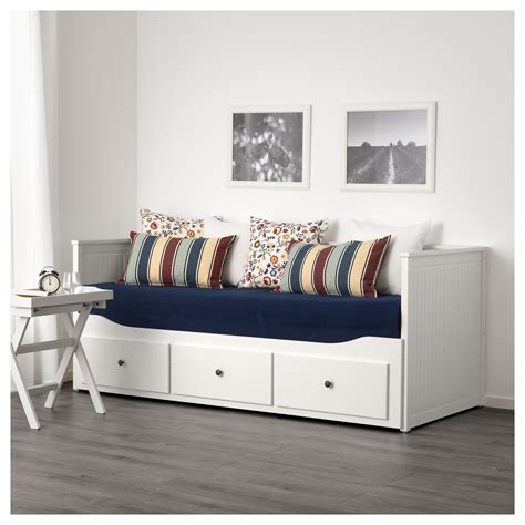 ikea day bed hemnes day bed frame with 3 drawers white 80x200 cm ikea