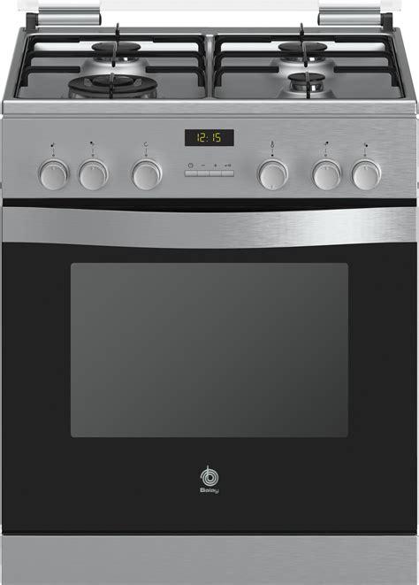 cocina gas balay cocina lc 4 bib blanca 4f horno 60x60x87