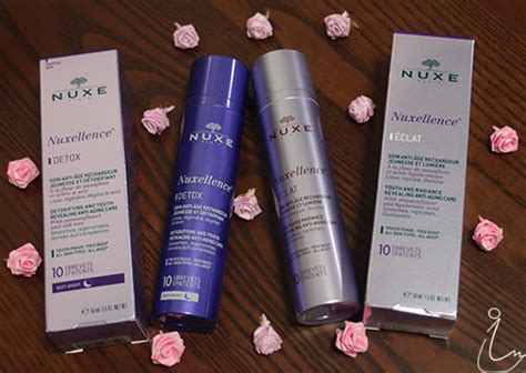 Nuxe Detox by The Swanple Review Nuxe Nuxellence Eclat And Nuxellence