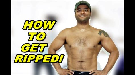 how to get a ripped abs home workout