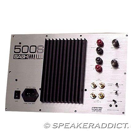 watt rms home theater  woofer  plate amplifier