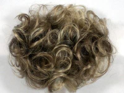 salt and pepper clip in bangs short wavy curly pull through wiglet hair enhancer piece 4