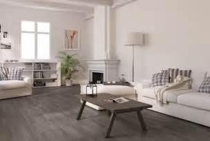 Living Room Ideas With Grey Flooring Vintage Living Room With Oak Plank Grey Laminate Flooring