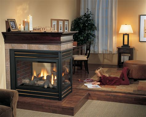 3 sided fireplaces in calgary hearth home