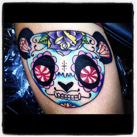 panda express tattoo 17 best images about sugar skull tattoos on pinterest