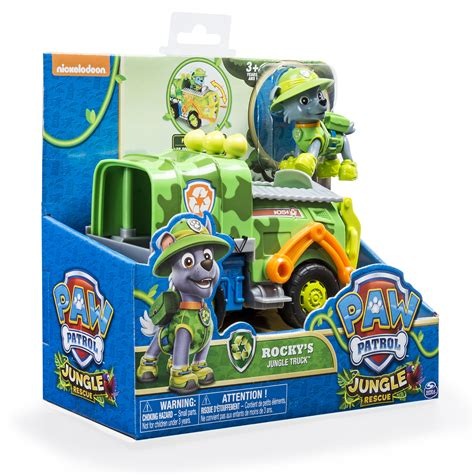 paw patrol boat truck high quality paw patrol jungle rescue rockys jungle truck
