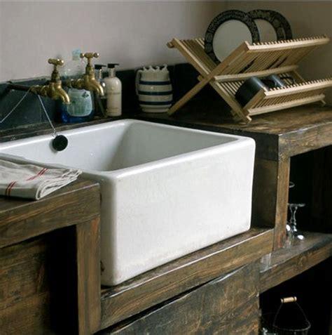 Brown Farmhouse Sink by Farmhouse Sinks Nomadic Decorator