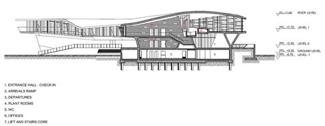 zaha hadid section salerno maritime station by zaha hadid inaugurated in italy