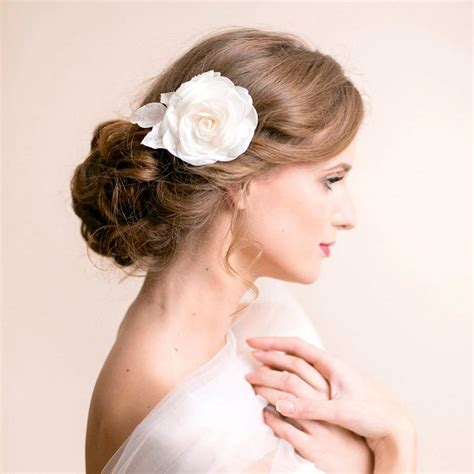 Wedding Hair Accessories Roses by Hair Clip Bridal Hair Clip Flower For Hair