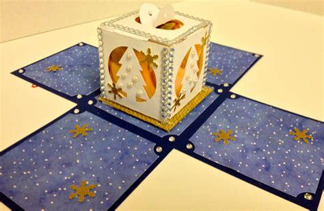 paper craft tutorial paper craft studios explosion box tutorial w template