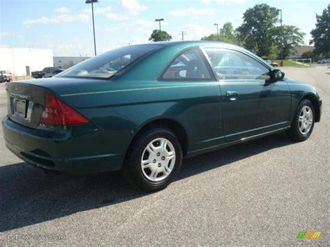 honda green 2002 clover green metallic honda civic lx coupe 30367435