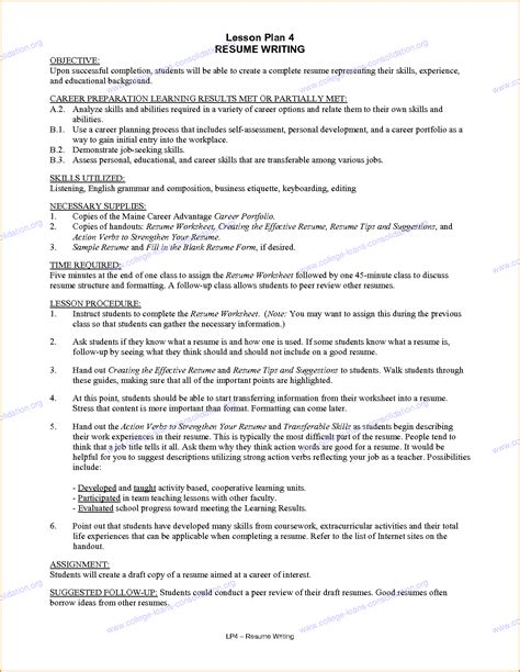 College Resume Objectives by 5 Student Resume Exles Invoice Template
