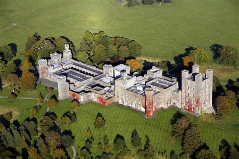 One Floor Home Plans by Aerial Photographs Of Penrhyn Castle In North Wales