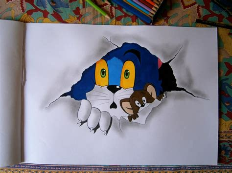 tom jerry painting free tom and jerry by amitbaokar on deviantart