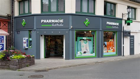 Facade Pharmacie Moderne by La Pharmacie Nicolas 224 Monfort Sur Meu 35 Fait