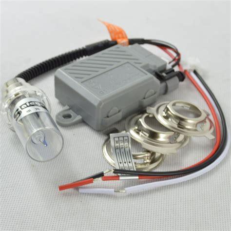 Lu Hid H4 Motor xenon moto 35w motorcycle hid lights xenon kit h4 hi lo headlight bulbs universal ba20d h6m