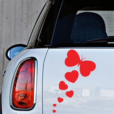 Stickers X Auto by Sticker Auto Papillon Amoureux Stickers Animaux