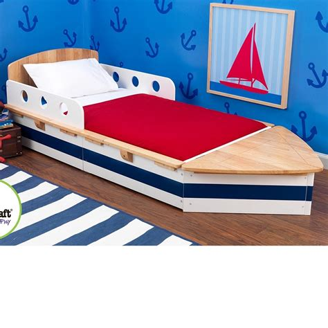 boat bed dreamfurniture com boat toddler bed