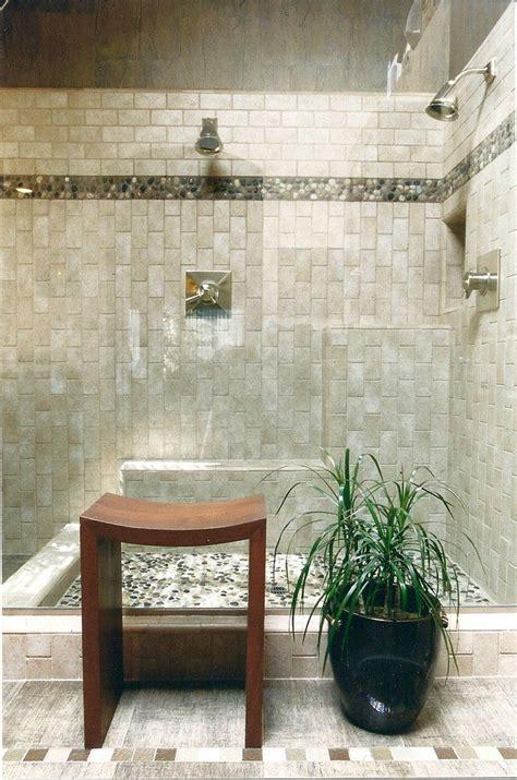 25 best ideas about river rock shower on pinterest rock bathroom home design plan