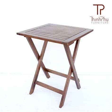 Wood Patio Table Set Outdoor Bistro Set Augie Thinh Phu Furniture