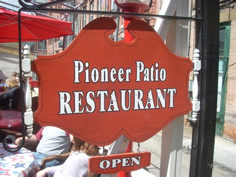 Pioneer Patio Restaurant Cooperstown Ny by Pioneer Patio Restaurant American Restaurant West